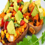 Loaded Sweet Potato Skins Recipe