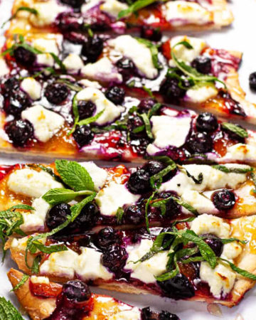 Blueberry Flatbread