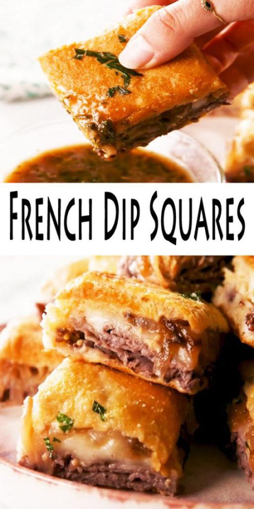 French Dip Squares Recipe