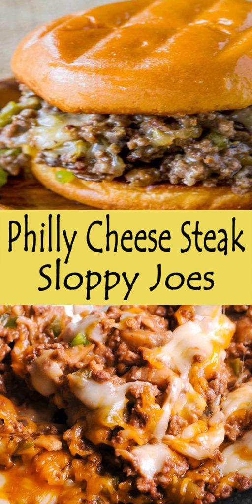 Philly Cheese Steak Sloppy Joes Recipe