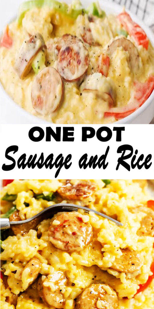 One Pot Sausage and Rice